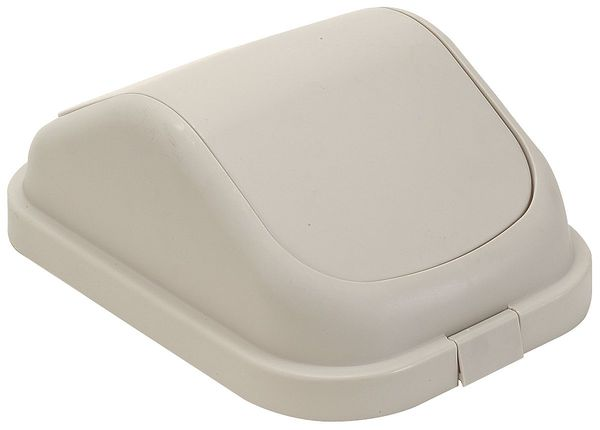 Tough Guy Square  Beige  Trash Can 4PGP2