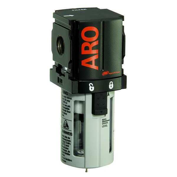 Aro Compressed Air Filter, 250 psi, 1.81 In. W F35121-420