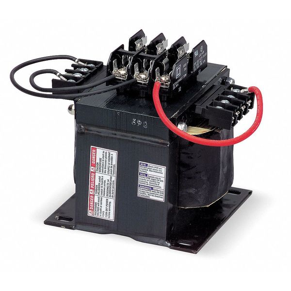Square D By Schneider Electric Control Transformer, 2kVA, 7.46 In. H 9070TF2000D1