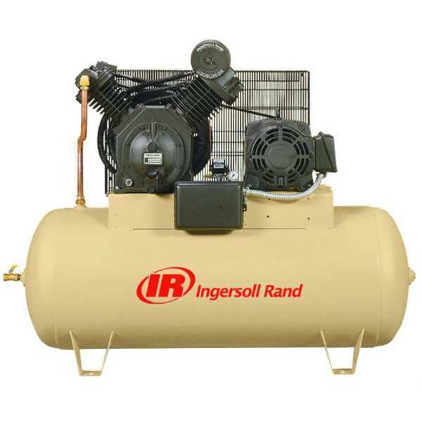 Ingersoll Rand Electric Air Compressor, 2 Stage, 15 HP 7100E15-V-230/3