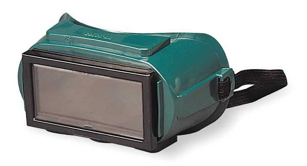 Sellstrom Welding Plate Safety Goggles,  Shade 5.0 Uncoated Lens S85450