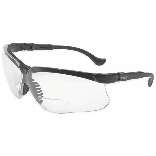 Honeywell Uvex Reading Glasses, +2.5, Clear, Polycarbonate S3763