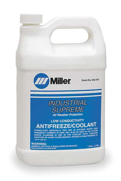 Miller Electric Coolant, 1 gal, Can 043810