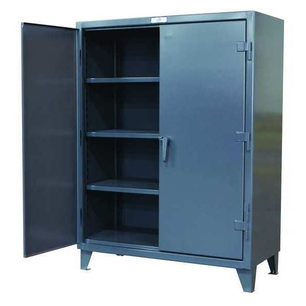 Strong Hold Storage Cabinet, 12 ga., 78 In. H, 48 In. W 46-244