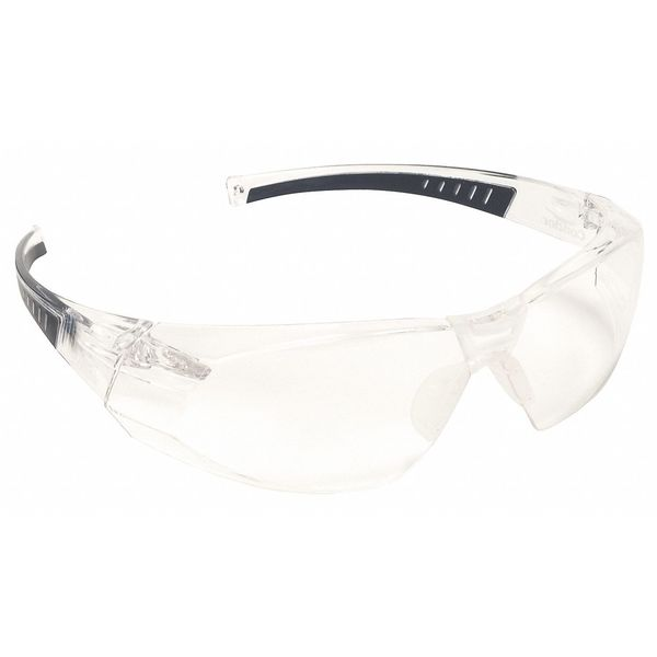 Condor Safety Glasses,  Wraparound Clear Polycarbonate Lens,  Anti-Fog 4VCL2