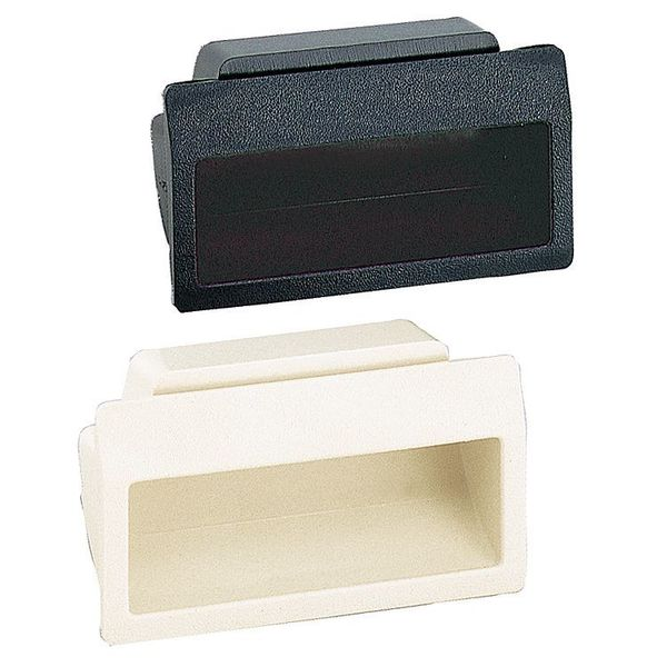 Lamp Recessed Pull Handle,  Thermoplastic,  Matte,  Matte,  Snap-in AT-70-B