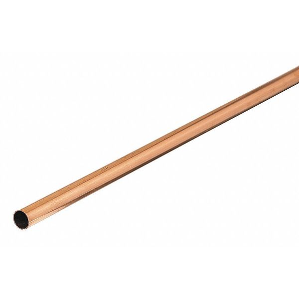 """Mueller Industries 3/8"""" OD x 5 ft. Straight Copper Tubing Type L LH02005"""