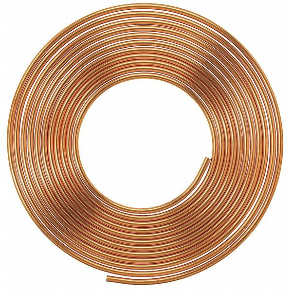 "Mueller Industries 3/8"" OD x 20 ft. Coil Copper Tubing Type L LSC2020P"