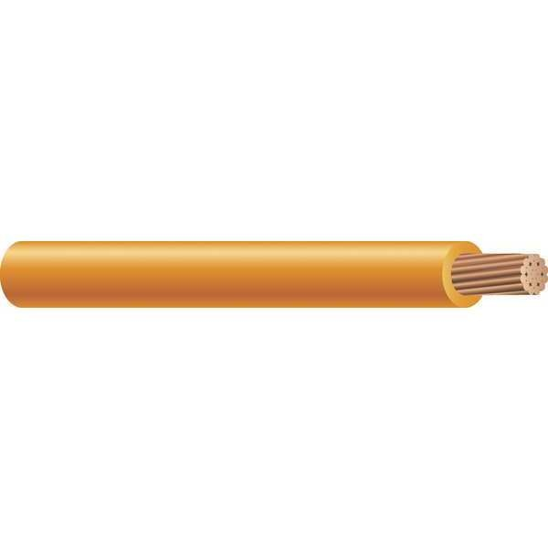 Southwire Building Wire, THHN, 6 AWG, Orange, 500ft 26067901