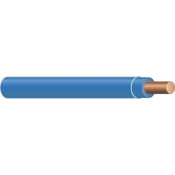 Southwire Building Wire, THHN, 10 AWG, Blue, 2500ft 11598005