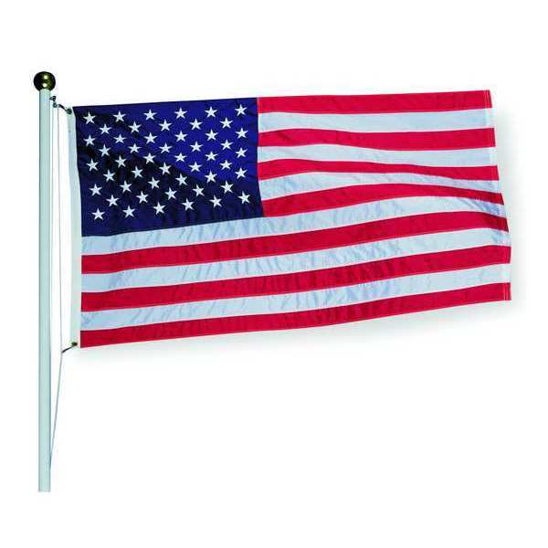 Tough-Tex US Flag, Polyester, 3x5 Ft 2710