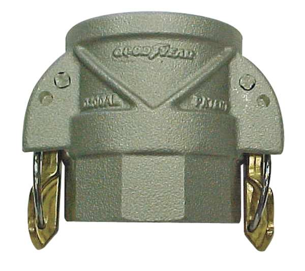 Continental Coupler with Locking Arms, 4 x 4In, 250psi D400AL