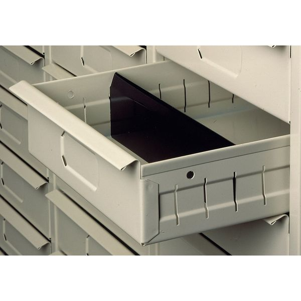 TENNSCO 30AD Dividers,For 30 Drawer,Blk,PK30