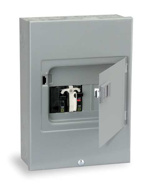 Square D Generator Panel, 12-1/2 H x 8-7/8 In. W QO48M30DSGP