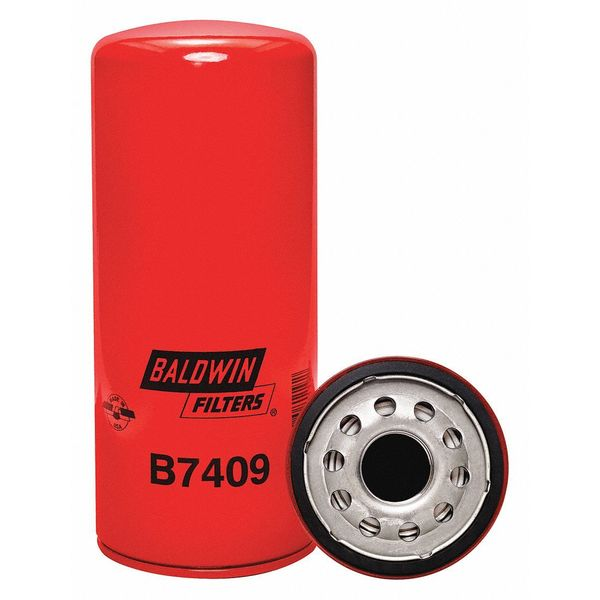 Baldwin Filters Oil Filter, Spin-On, By-Pass B7409
