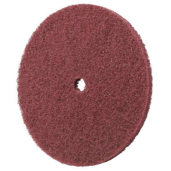 SCOTCH-BRITE HS-DC Fiber Disc,6x1//2in,Med,AlO