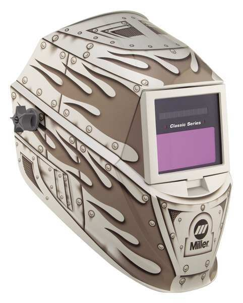 Miller Electric Auto Darkening Welding Helmet,  Metalworks 271346