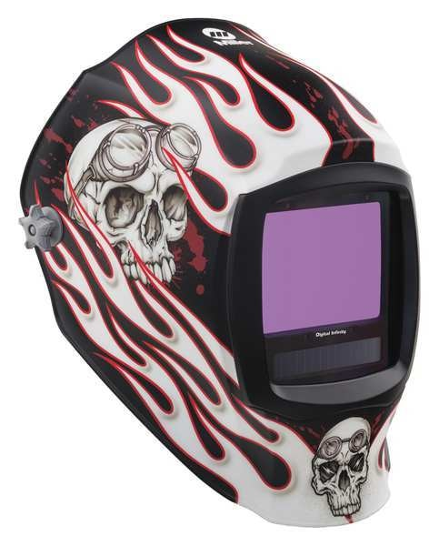 Miller Electric Auto Darkening Welding Helmet,  Departed 280048