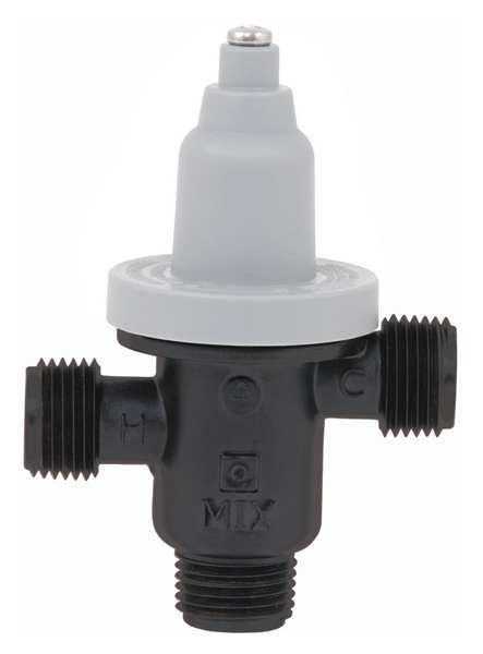 "Bradley Thermostatic Valve for Faucet 5 GPM,  Outlet Size: 1/2"" S59-4000"