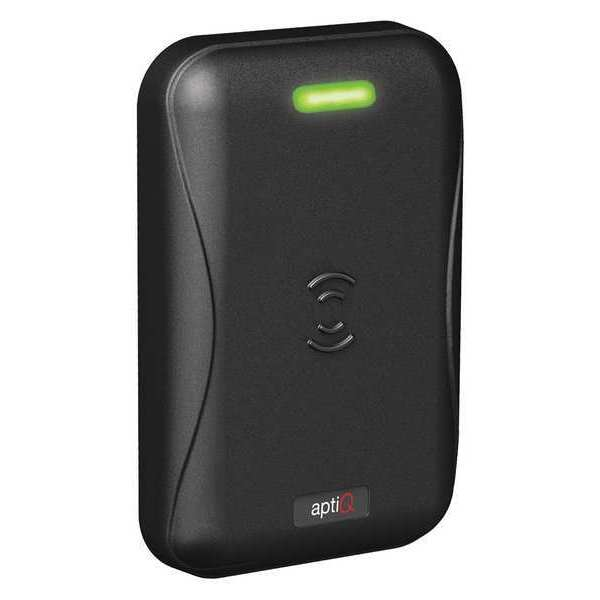 Schlage Electronics Proximity Reader, Black, 5-7/64 in. H MT15