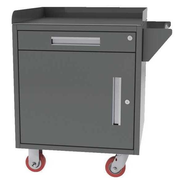 "Greene Manufacturing, Inc. Mobile Cabinet Bench, Steel, 30"" W, 24"" D MG-100.STL"