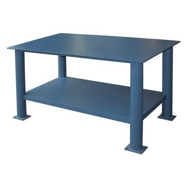 "Greene Manufacturing, Inc. Fixed Work Table Add-On, Steel, 48""W, 30""D EX-3048"