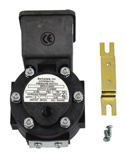 Barksdale Differential Switch EPD1H-AA40