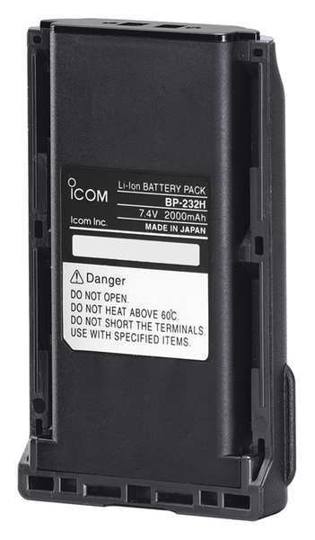 Icom Battery Case, For A14, Lithium Ion, 7.2V BP232H