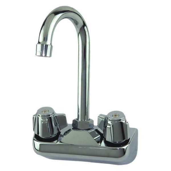 Dominion Commercial Faucets Wall,  Brass,  Gooseneck Service Sink Faucet 77-9116