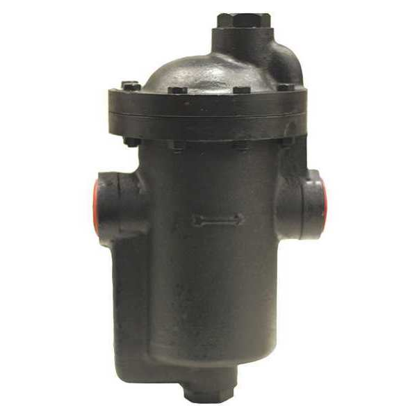 """Mepco Steam Trap, 1-1/2"""" NPT Outlet, SS Disc IB15-6-125"""