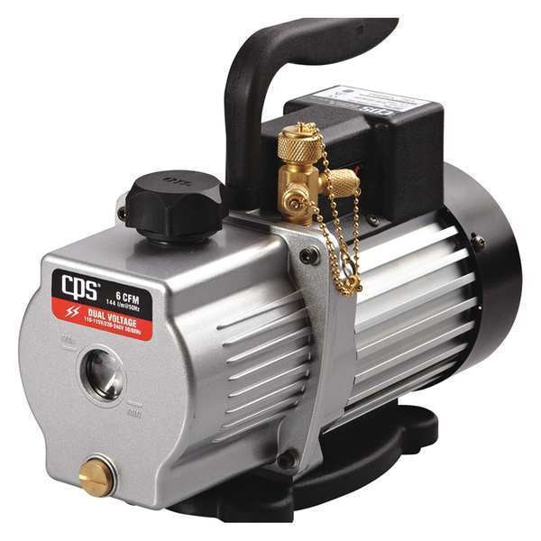 Pro-Set Vacuum Pump, 6.0 cfm, 1/2 HP, 50 Microns VP6S