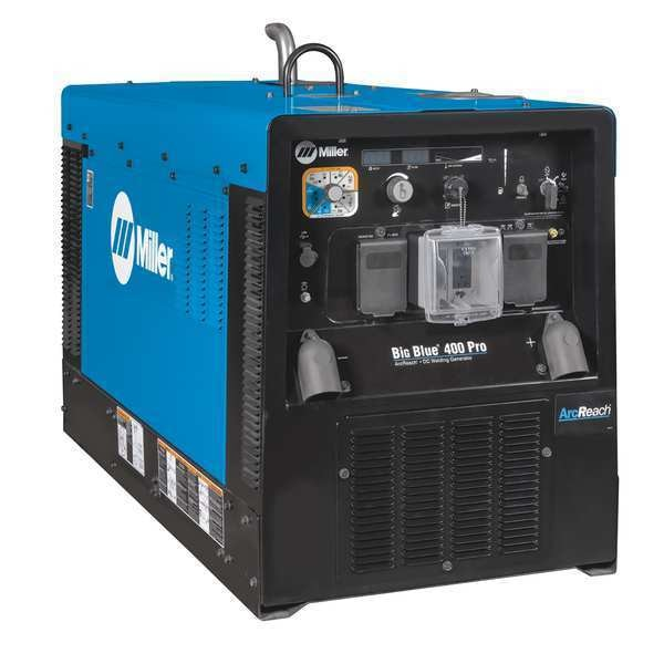 Miller Electric Engine Driven Welder, Mitsubishi, 24.7 HP 907733001