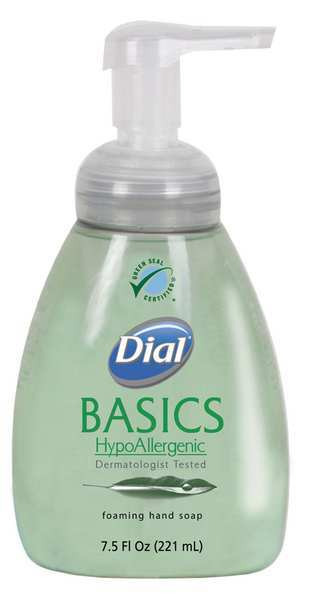 Dial 7.5 oz. Foam Hand Soap Pump Bottle DIA 06042