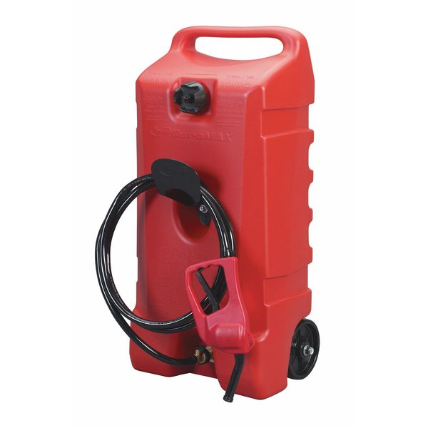 Scepter 14 gal Red Polyethylene Fuel Caddy for Fueling 06792