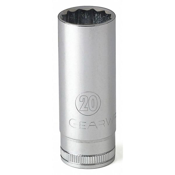 "Gearwrench 1/2"" Drive 12 Point Deep Metric Socket 11mm 80782"