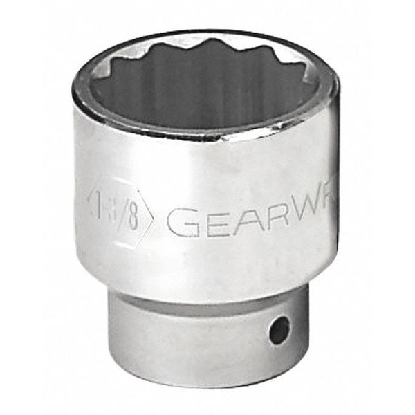 """Gearwrench 3/4"""" Drive 12 Point Standard SAE Socket 1-1/4"""" 80839"""