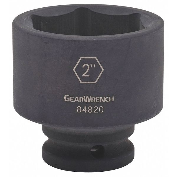 """Gearwrench 3/4"""" Drive 6 Point Standard Impact SAE Socket 1-15/16"""" 84819"""