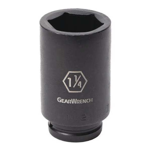 "Gearwrench 3/4"" Drive 6 Point Deep Impact SAE Socket 1-3/4"" 84879"