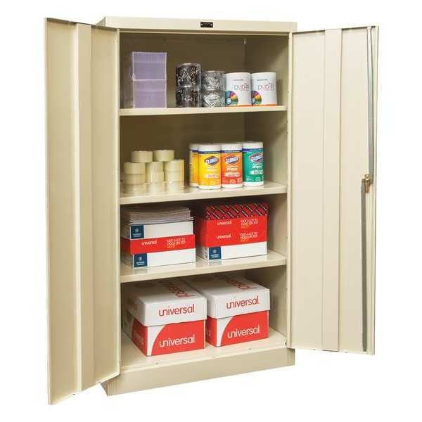 """Zoro Select Storage Cabinet, 66"""" H, Assembled, 36"""" W 210S362466A-PT"""