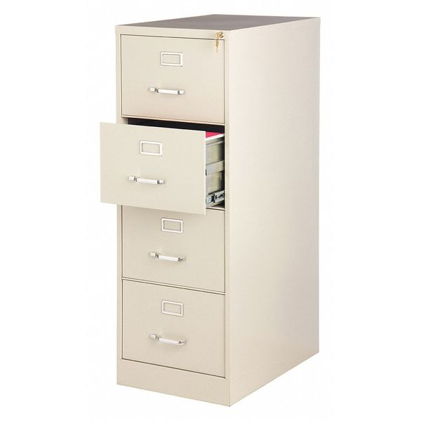 28 1 2 W 4 Drawer File Cabinet Putty Letter