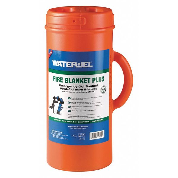 "Waterjel Fire Blanket, 60"" W 72"" L, Tan, Orange Case G7260C-4.69.000"