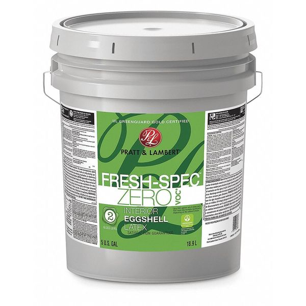 Pratt & Lambert 5 gal. Whisper Eggshell Latex Interior Paint 0000Z0380-20