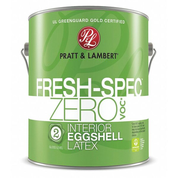 Pratt & Lambert 1 gal. Anthracite Eggshell Latex Interior Paint 0000Z0383-16