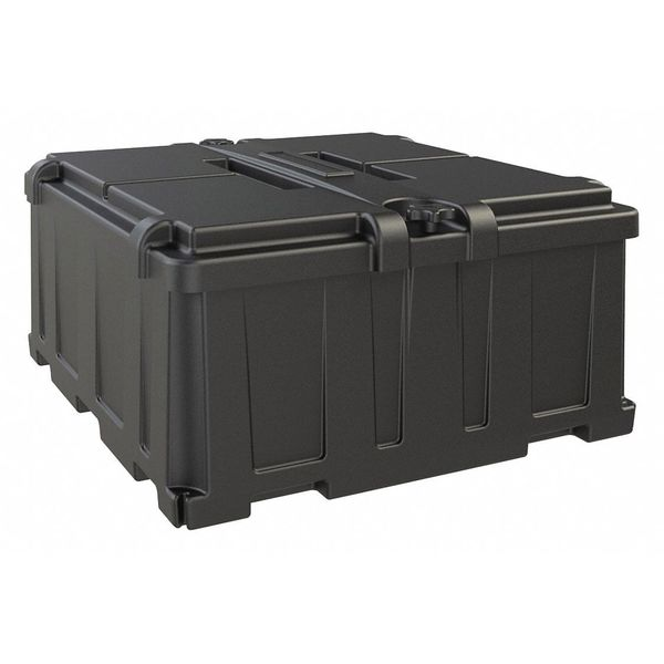 Noco Battery Box,  Snap Top Closure,  Inside Width: 23 in HM485