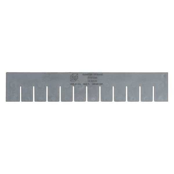 Quantum Storage Systems DG Long Divider,  16.5 in. L x 3 in.,  PK6 DL92035