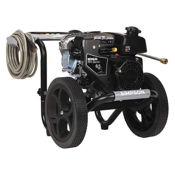 Simpson Medium Duty 3000 psi 2.4 gpm Cold Water Gas Pressure Washer MS60763-S