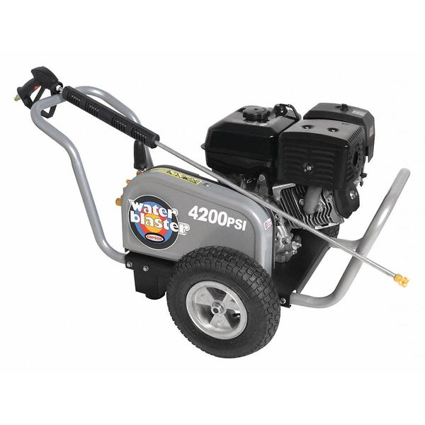 Simpson Industrial Duty 4200 psi 4.0 gpm Cold Water Gas Pressure Washer WB4200