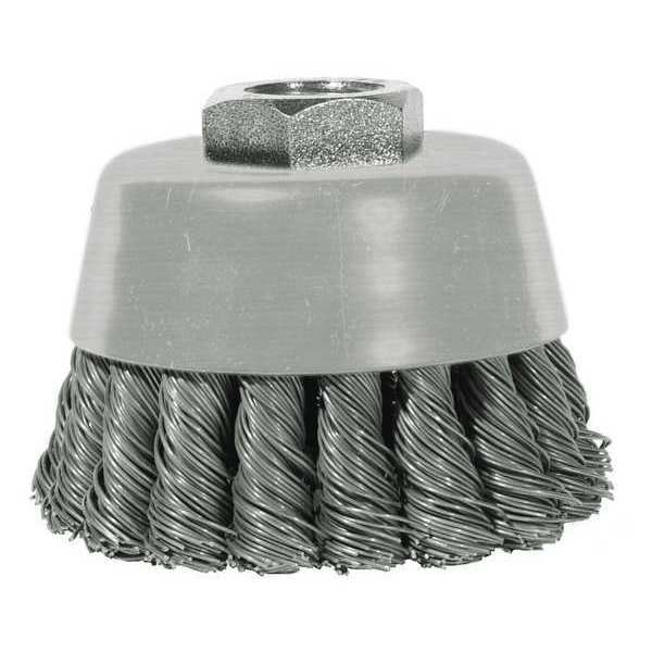 Century Drill And Tool Knot Cup Brush, 6x5/8x11 in. 76062
