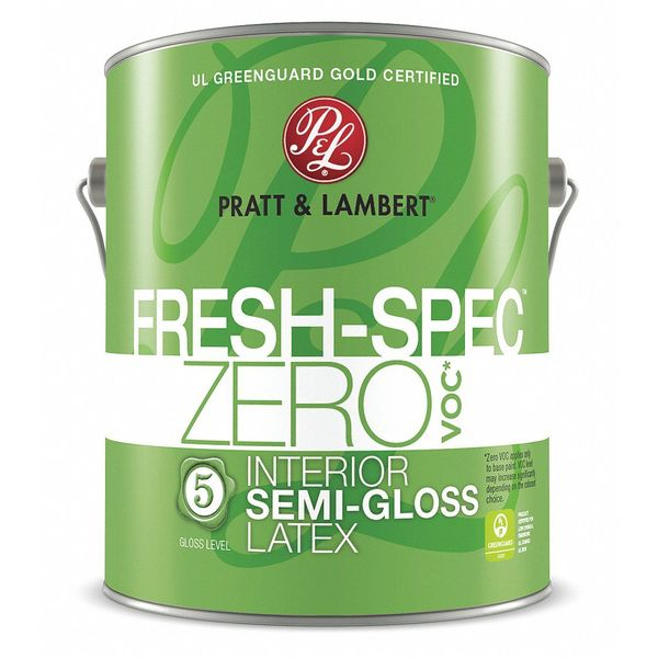 Pratt & Lambert 1 gal. Fairy Vision Semi-gloss Latex Interior Paint 0000Z0680-16