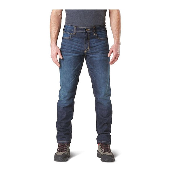 5.11 Tactical Defender Flex Slim Jean, Size 3, DW Indigo 74465